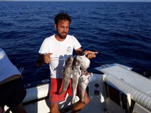 Péche de fond haute mer Salento