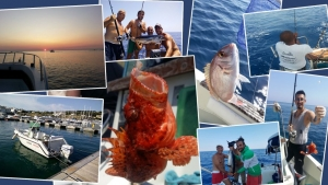 Fishing trips in salento