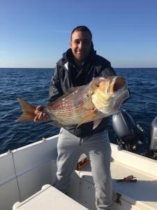 Pesca traina di fondo in salento