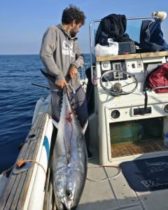 fishing drifting in salento